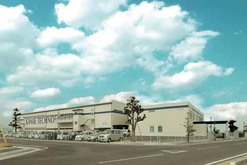 カナエテクノスの新工場完成